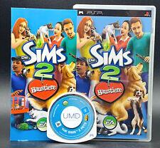 "PSP PS Portable Spiel "" DIE SIMS 2 HAUSTIERE "" KOMPLETT"