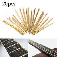 20 pz / set Tastiera classica in ottone per chitarra acustica Fret 2.0mm KTP