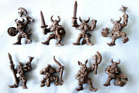 Oritet Vikings, 8 Fantasy Plastic Toy Soldiers from Russia, 54mm, Very RARE