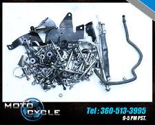 12 2012 TRIUMPH STREET TRIPLE R 675R BOLTS LOT HARDWARE ENGINE BIKE 675 M34