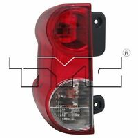 for 2013 - 2015 driver side Nissan NV200 Rear Tail Light Assembly Replacement