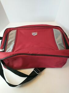 American Tourister Soft Sided Red Carry On Bag