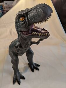 """T - Rex Dinosaur Toys R Us Large Rubber Figure Toy 15"""" Long - 13"""" High"""