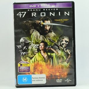 47 Ronin DVD Keanu Reeves Good Condition Free Tracked Post AU