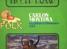 CARLOS MONTOYA disco LP 33 giri LA CHITARRA FLAMENCO VOL.1 MADE in ITALY 1976