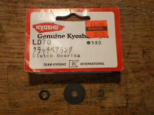 LD-70 Washers & E-Clip Only (No Bearing) - Kyosho Stinger Burns Rampage Blizzard