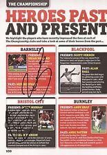 Barnsley/Bristol C: B. Howard & S. Murray firmado A4 (12x8) Libro/anuales imagen + certificado De Autenticidad
