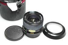 Minolta MD W. Rokkor 24mm F/2.8 + Hood