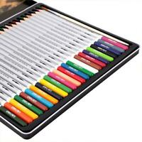 24 36 48 Pcs/set Water Colour Pencils Watercolour Pencils Drawing For Aquar Q6Z2