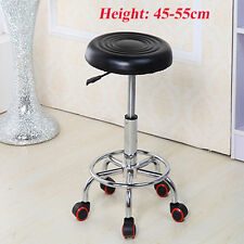 Adjustable Swivel Hydraulic Leather Salon Stool Rolling Seat Office Chair Us