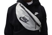 Nike Heritage Bum Bag Waist pack Bumbag Belt Fanny Pack Waistpack Silver Grey