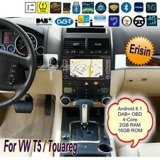 "Android 8.1 For VW Touareg T5 Autoradio Navigatore CD DAB+Wifi DVB-T TPMS 7""3856"