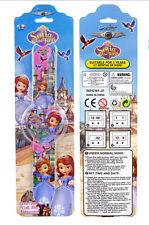 12Pcs Princess Sophia Children's Cartoon Clap watch Digital watches Party Gifts