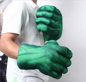 2PCS Hulk Smash Hands Cosplay Punching Gloves Boxing Fists Toys Gift N1