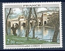 STAMP / TIMBRE FRANCE NEUF N° 1923 ** ART TABLEAUX PONT MANTES