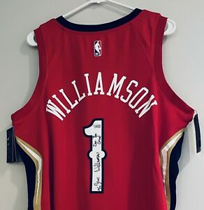 Zion Williamson Signed Pelicans NBA Authentic Swingman Jersey LE #24/25 FANATICS