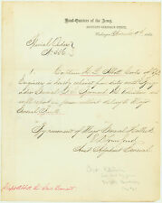 Three Special Orders Signed by Gen. Townsend Re. Capt. Abbott