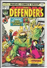 DEFENDERS #22!!! SONS OF THE SERPENT APPEARANCE!!! NM-!!!