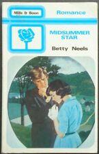Vintage Harlequin Romance, Mills & Boon, Midsummer Star, Betty Neels