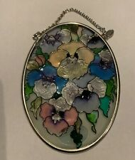 AMIA Studios Sun Catcher Flowers Suncatcher