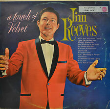 """JIM REEVES - A TOUCH OF VELVET 12"""" LP (P731)"""