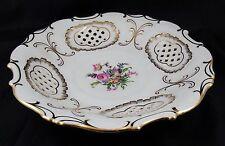 Very Pretty Vintage Pirkenhammer Porcelain Czechoslovakia Latice Bowl