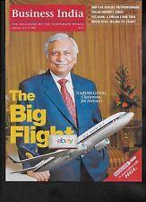 JET AIRWAYS INDIA 2/14/2005 THE BIG FLIGHT NARESH GOYAL 5 PAGE ARTICLE BIZ INDIA