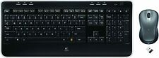 The Logitech MK520 Wireless Combo includes a wireless keyboard and laser mouse.