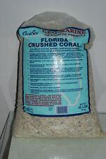 Acquario Florida Tritato Corallo 18.1kg Borsa Grani Ca 2-5mm Per Marino Vasche