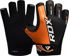 RDX Weight lifting Gloves Gym Workout Fitness Strength Training Bodybuilding