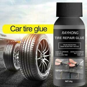 30ml Car Rubber Tire Repair Artifact Glue Tyre Cracks Tool Liquid Adhesive G4M1