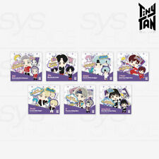 BTS TinyTAN Official Authentic Goods Sticker 7SET + Tracking Number