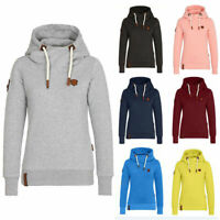 Oversize Women Hooded Sweatshirt Ladies Baggy Pullover Tops Casual Jumper Blouse