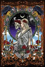 GRATEFUL DEAD - SKELETON BRIDE POSTER 24x36 - GARY KROMAN ART 3023