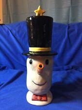 Dept.56 Snowman Hot Chocolate/Teapot