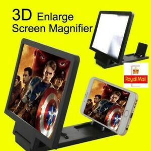 Mobile Phone Screen Magnifier Fordable 3D Amplifier Video Smart Phone Universal���