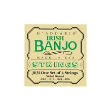 Jeu de corde D'Addario EJ63i Irish tenor banjo 4 cordes