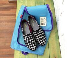 Housse chaussure ,matière imperméable, idéal accessoire pour les voyages - Bleu