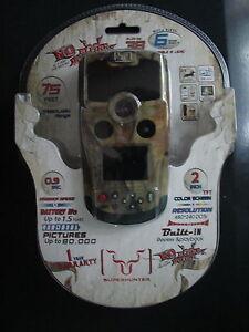 """Superhunter SH6M-B Game Camera Built-In 2"""" TFT Color Screen 6 Mega Pixel IR LEDS"""