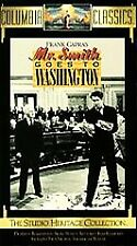 Mr. Smith Goes To Washington New and Sealed Vhs tape Studio Heritage Collection