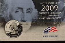 2009-S US QUARTER PROOF SET (ORGINAL MINT PACKAGING) 6 GEM Proof Coins