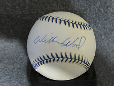 Wilbur Wood Autographed Joe Dimaggio Commemorative AL Baseball SGC COA