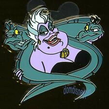 Disney Pin *Villain & Sidekick* Collection - Ursula with Flotsam & Jetsam!