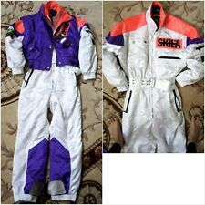 SKILA Snow Ski Jumpsuit pant VEST Snowsuits W/ Accessories XXS $1500 Made Japan