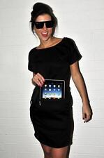 iDress, world's first iPad compatible dress, black, reinforced pouch, new, UK 10