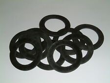 10 Rubber Washers 52mm O/D X 35.5mm I/D X 2mm Thk