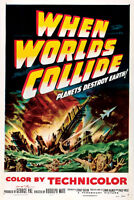 When Worlds Collide (1951) Science Fiction cult movie poster 24x36 inches approx