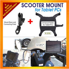 motorcycle/scooter mount+Uni Holder for Tablet PC,as iPad1,2, Galaxy Note10.1...