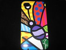 Abstract Butterfly Cover Case for iPhone 4 4s New Polka dots Stripes Case