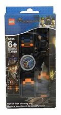 Lego Pirates Of The Caribbean Barbossa Watch With Link Bracelet and Figurine